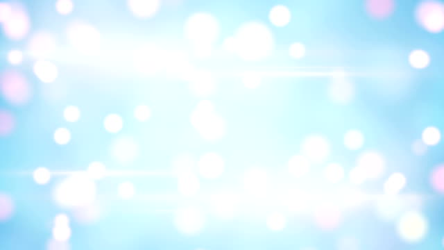 light blue blurred circles loopable background video