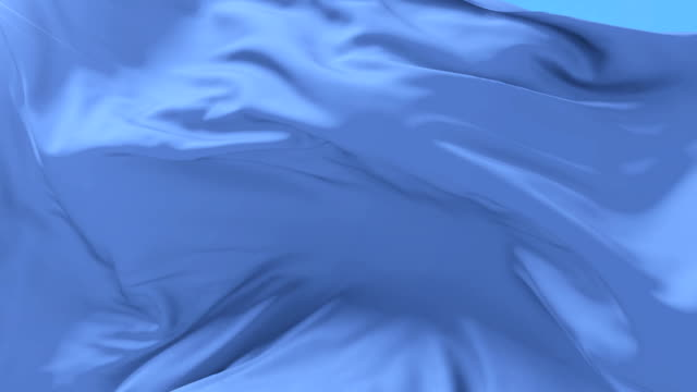 光の青い布や絹旗遅い、ループの風に手を振って - 布点の映像素材/bロール