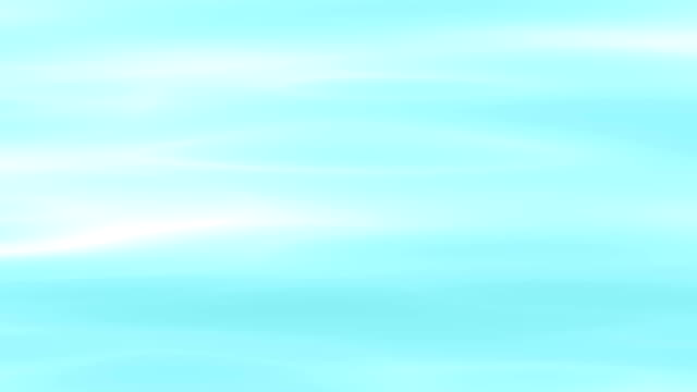 Light blue moving waves video