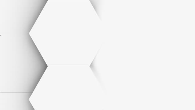 light bright clean minimal polygonal grid pattern video