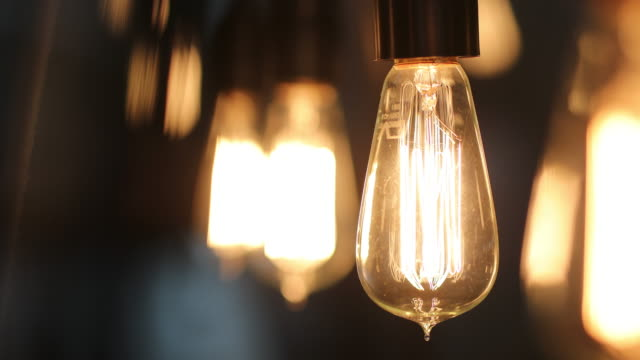 Light bulb being turned OFF Light bulb being turned OFF light bulb stock videos & royalty-free footage