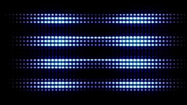 Glühbirnen las vegas-Stil – Video