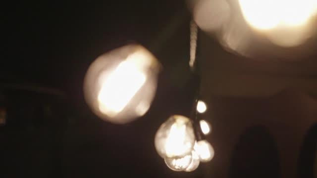 Lâmpadas ao ar livre - vídeo