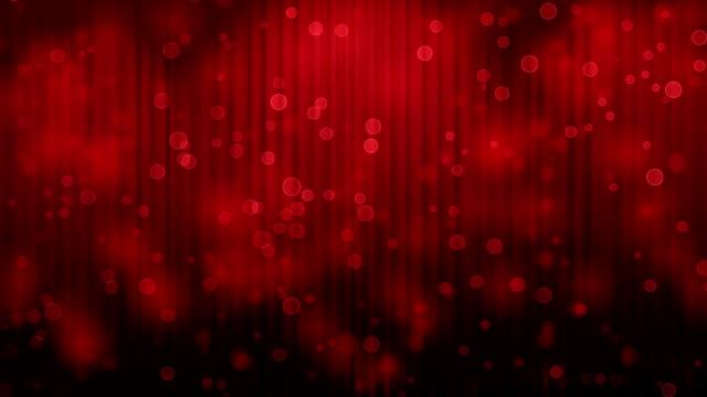 Light Burst over Theatrical curtain video
