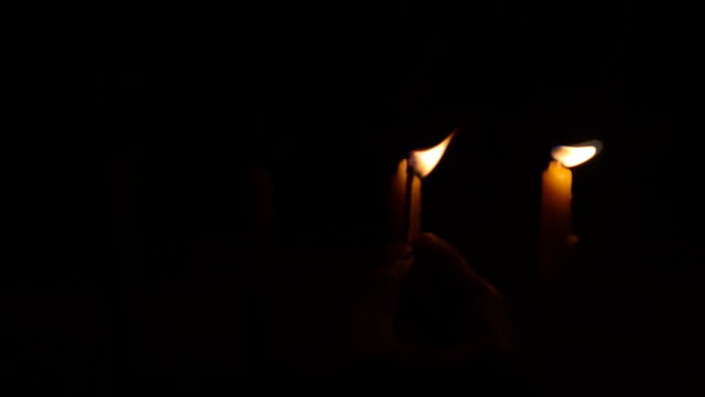 light candles video