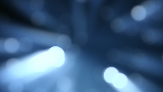 Light dots defocus, abstract animation. video
