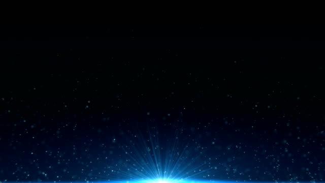 光塵の背景 ビデオ