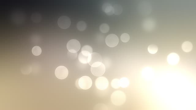 light faded circle bokeh blurred motion background. - soft focus video stock e b–roll