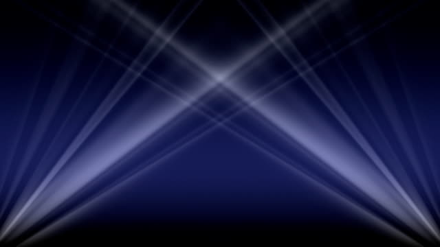 Light Gallery HD Blue Spotlights circle over stage electric light stock videos & royalty-free footage