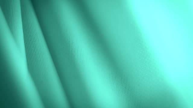Light green fabric material abstract background video