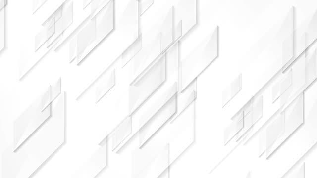 Light grey tech geometric video animation video