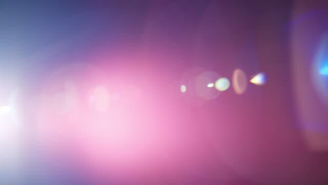 vidéos et rushes de light leak cine lens 20mm lens flares - verre optique