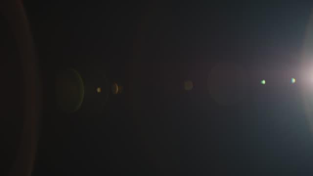 光洩漏電影鏡頭 24mm 鏡頭火焰 - 鏡頭眩光 個影片檔及 b 捲影像