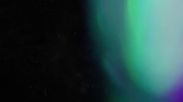 Light Leaks Overlay på svart bakgrund video