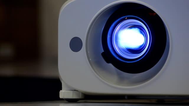 Light lens projector close.part3 video