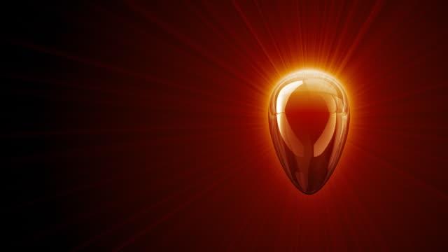luce del cuore (hd 1080 - simbolo concettuale video stock e b–roll