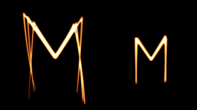 """vídeos y material grabado en eventos de stock de pintura de luz kit de construcción/minúsculas """"k"""" a """"t"""" - letra s"""