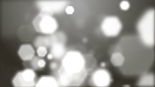 Light particles falling video