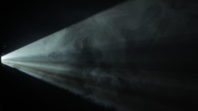 Light Proyector with Heavy Smoke