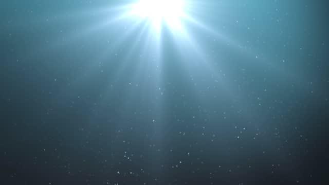 광선 배경 - 태양광선 스톡 비디오 및 b-롤 화면