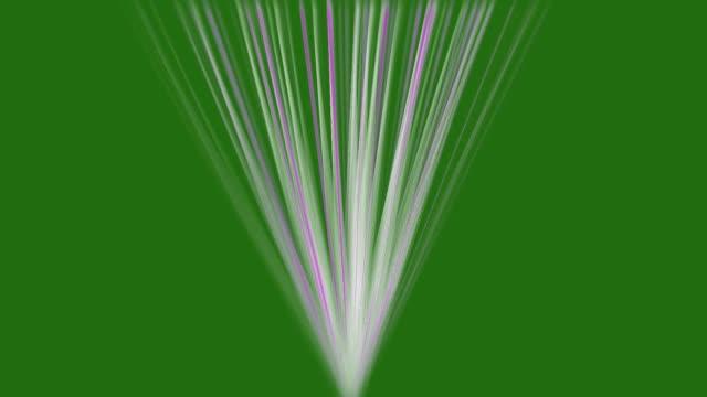 stockvideo's en b-roll-footage met lichtstralen op achtergrond animatie op groen scherm. abstract beams party entertainment hd-beeldmateriaal. - lichtbundel