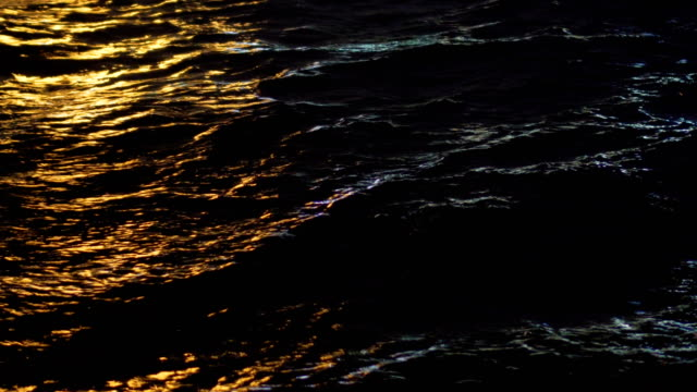 Light Reflections on water surface video