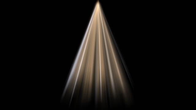 A light shining down video