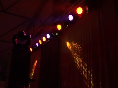 Light show video