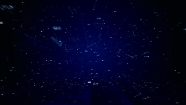 vídeos y material grabado en eventos de stock de luz de fondo del espacio - constelación