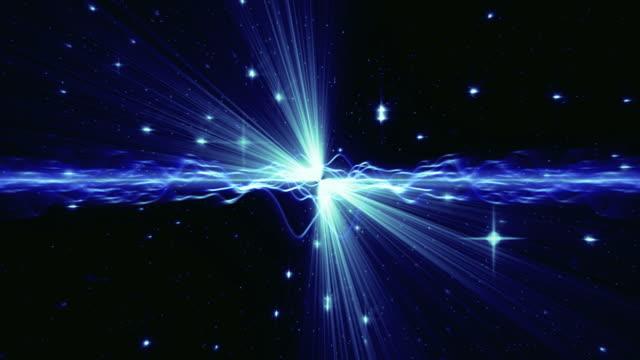 Light Streaks Particles Loop video