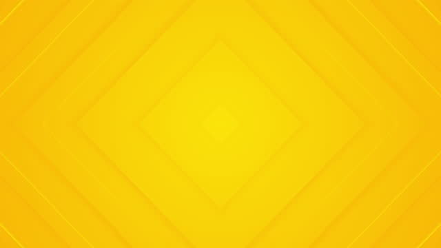 Light sunny yellow looped gradient abstract background.