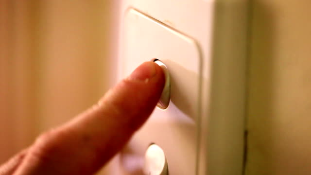 Light Switches - Turning On (Multi-Shots with High Quality Audio)
