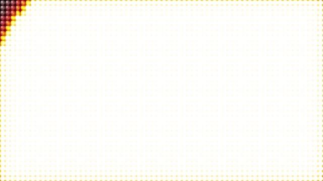 LED light transition background animation
