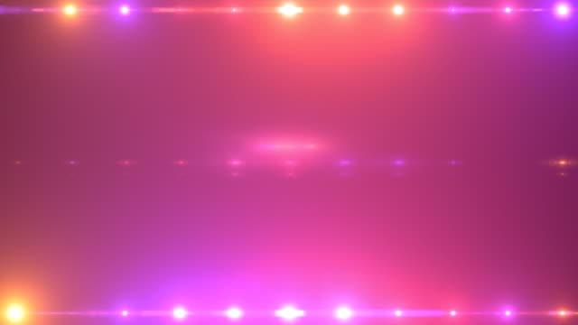 perdite di bagliore dell'obiettivo a transizione luminosa - fascino video stock e b–roll