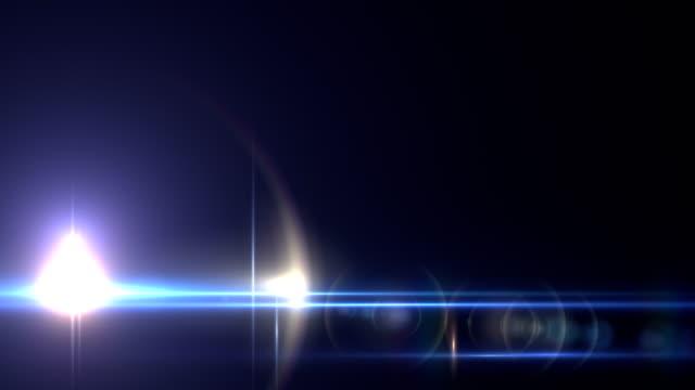 Light Transition Lens Flare Light Leaks Overlays Stock Video