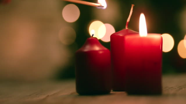 Light Up Candles for Christmas video