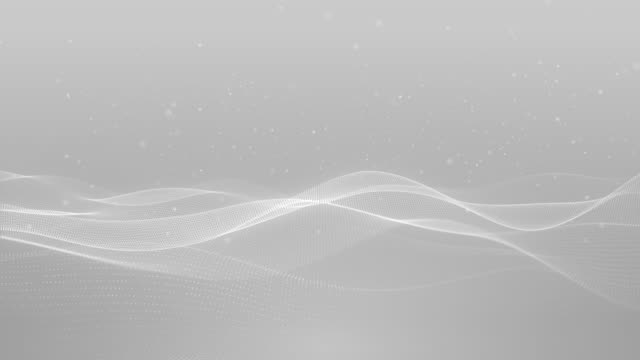 light white silver wave beautiful particle background business corporate digital wave shiny surface
