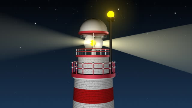 Lighthouse Painting Stock Videos and Royalty-Free Footage