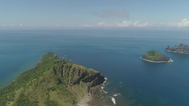 vídeos y material grabado en eventos de stock de faro de cabo engano. filipinas, isla de palau - palaos