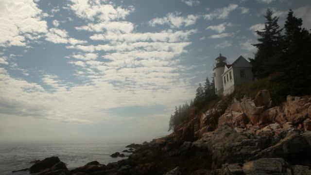 Lighthouse in Maine video