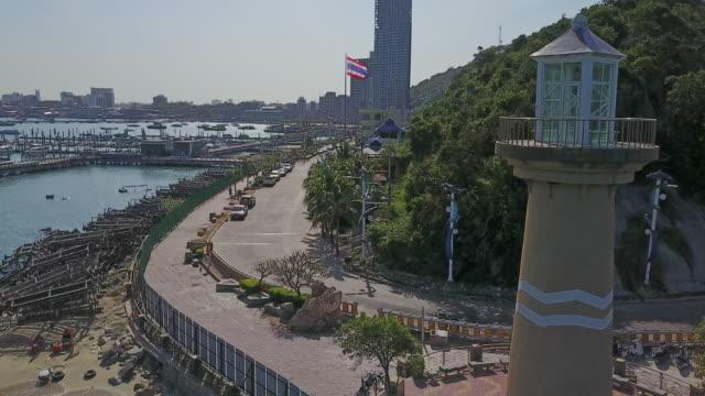 Lighthouse tower, Pattaya city video