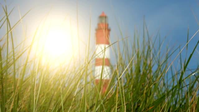 Leuchtturm mit Sonne – Video
