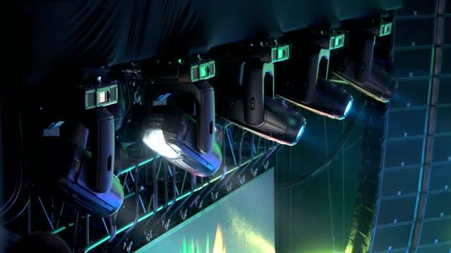 LED Lichttechnik, Bühne professionelle Beleuchtungseinrichtung – Video