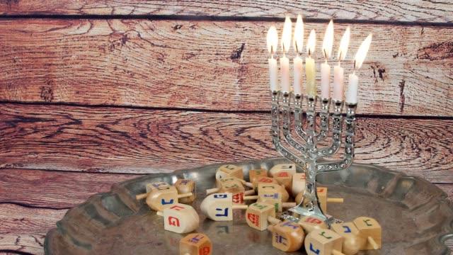 Lighting Hanukkah Candles Hanukkah celebration video