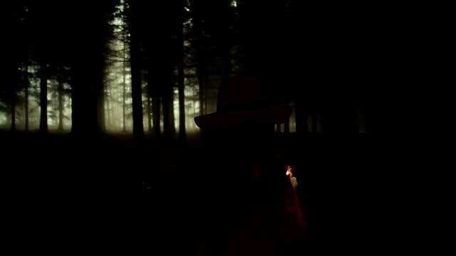 Lighting sparkler video