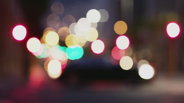 lighting up the night - ostrość na pierwszy plan filmów i materiałów b-roll