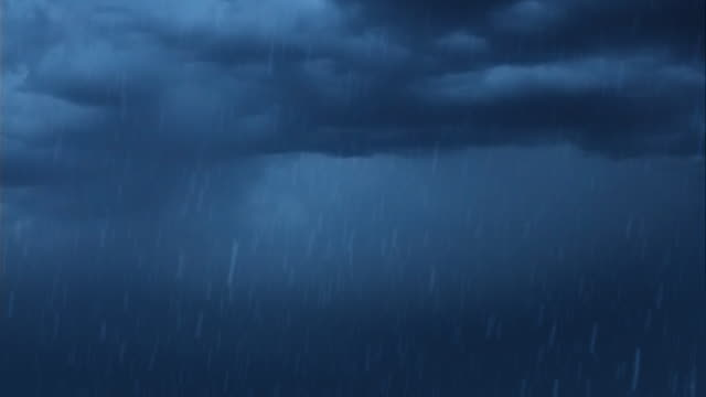 Lightning, Storm and Rain video