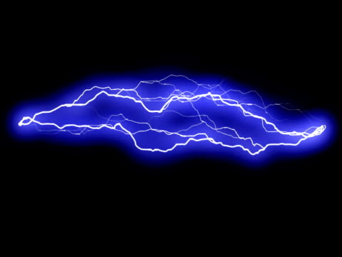 Lightning/Electric arc, looping. video