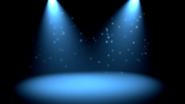 Lights and sparkles video