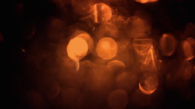 Lights defocused background